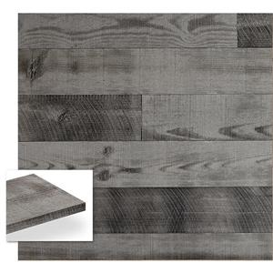 Planches décoratives Barnwood, gris bois flotté