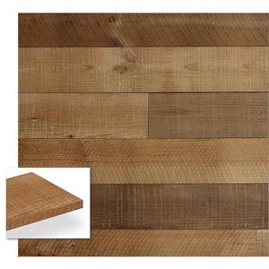 Timberwall 3/8-in x 4-in Barnwood Heritage Brown Appearance Boards
