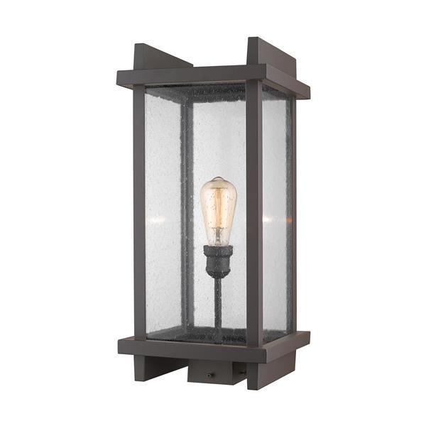 Z-Lite Fallow Outdoor Post Mount Fixture -  1 Light - Deep Bronze
