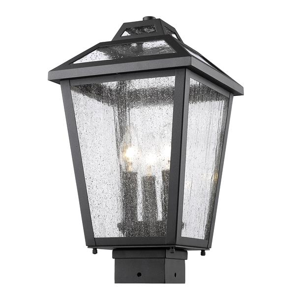 Z-Lite Bayland Outdoor Post Mount Light - 3 Light  - Bronze