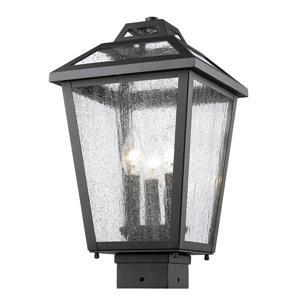 Luminaire extérieur Bayland pour poteau, 3 lumières, Bronze