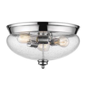 Plafonnier Amon, 3 lumières,  Chrome, 15
