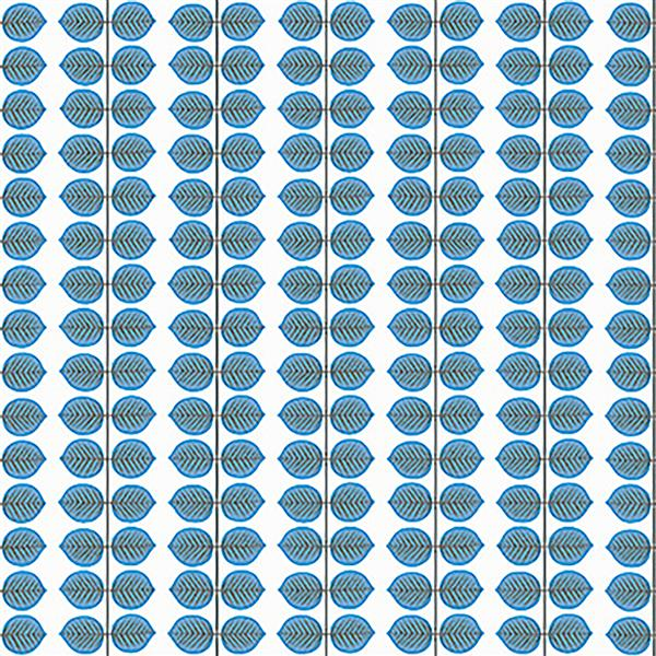 Brewster Wallcovering Berså 21-in Blue Paste The Wall Wallpaper
