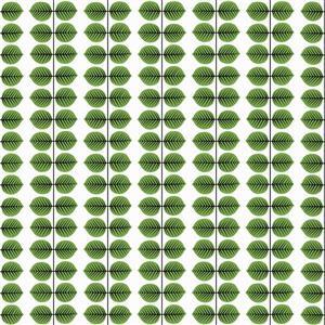 "Papier Peint Berså, 21"", vert"