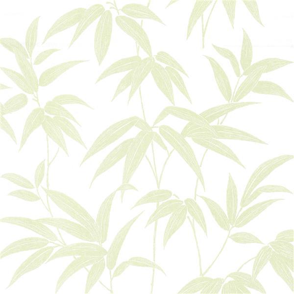 Brewster Wallcovering Sasa Ivy Vines  62.8 sq-ft Green Unpasted Wallpaper