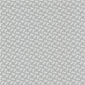 "Papier Peint Moomintroll, 20,5"", gris"