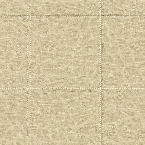 Brewster Wallcovering 20.5-in Brown Leather Pattern Wallpaper