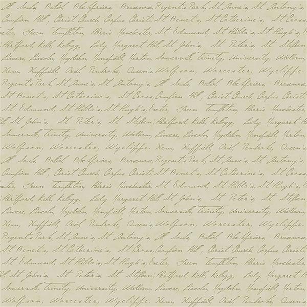 """Papier peint Calligraphie, 20,5"""", or"""