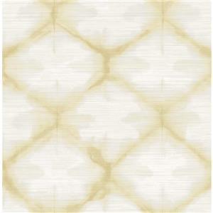 A-Street Zanzibar 56.4 sq ft Gold UnPasted Wallpaper
