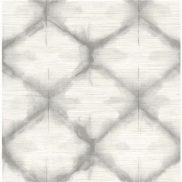 "Papier peint Zanzibar, 20,5"", gris"