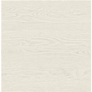 A-Street Prints 20.5-in Brown Reclaimed Wood Wallpaper