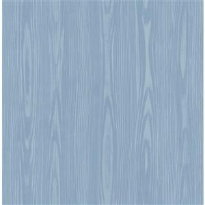 Illusion Faux Wood Wallpaper - 20.5
