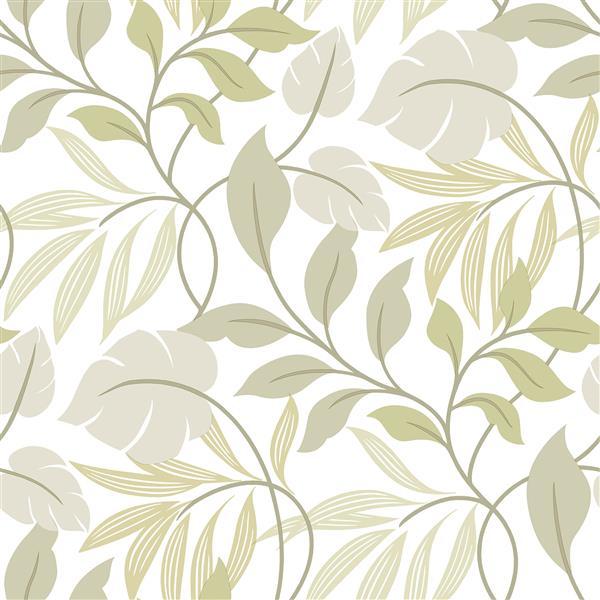NuWallpaper Neutral Meadow Sticker Wallpaper - 20.5-in x 216-in