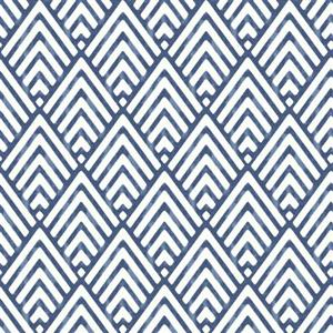 "NuWallpaper Arrowhead Wallpaper - 20.5"" x 216"" - Dark Blue"