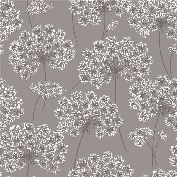 "NuWallpaper Angelica Sticker Wallpaper - 20.5"" x 216"" - Gray"