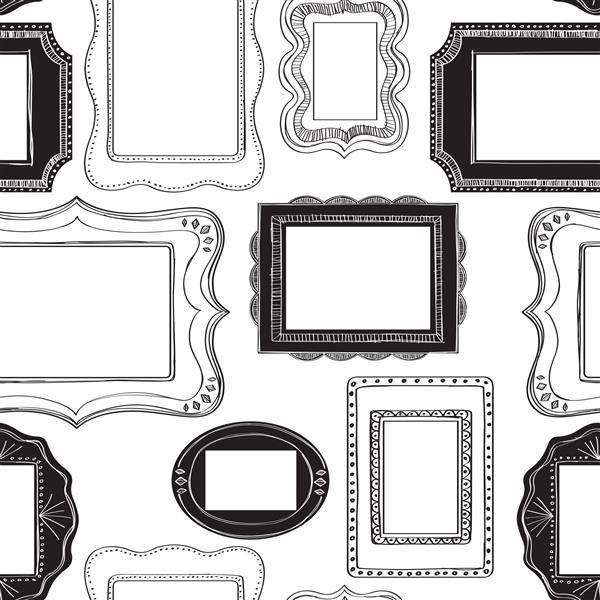 "NuWallpaper Wallpaper Stickers Frames - 20.5"" x 216"""