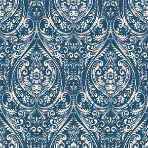 "NuWallpaper Indigo Sticker Wallpaper - 20.5"" x 216"""