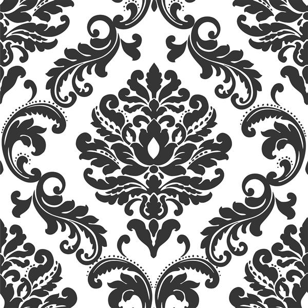 NuWallpaper Sticker Wallpaper - 20.5-in x 216-in - Black and White