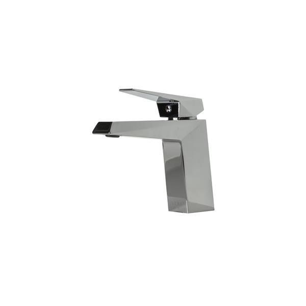 Sera Robinet de vanité de salle de bain Prismatic, chrome