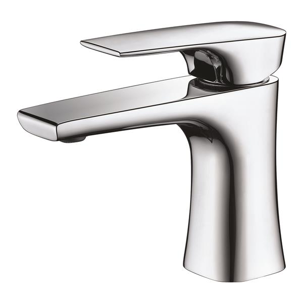 Sera Bathroom Vanity Faucet Lecco, chrome
