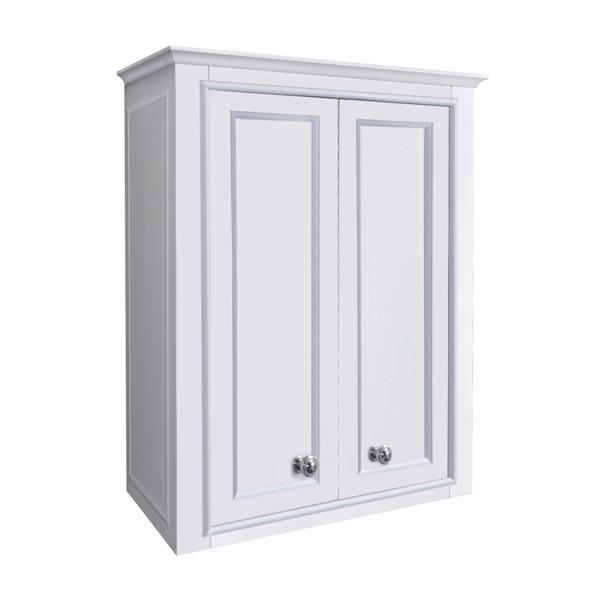 GEF Brielle Toilette topper, 23-in White