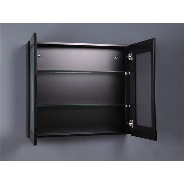 GEF Willow Medicine Cabinet, 32-in Grey