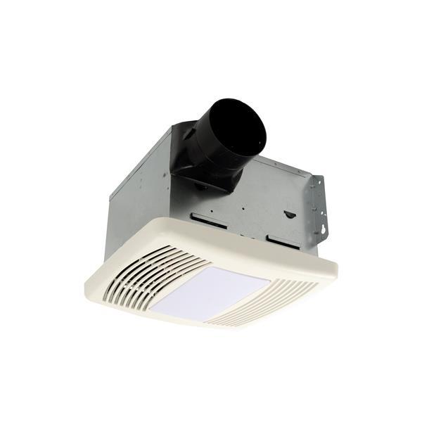 Ventilateur de salle de bain avec lumière, 110 PCM