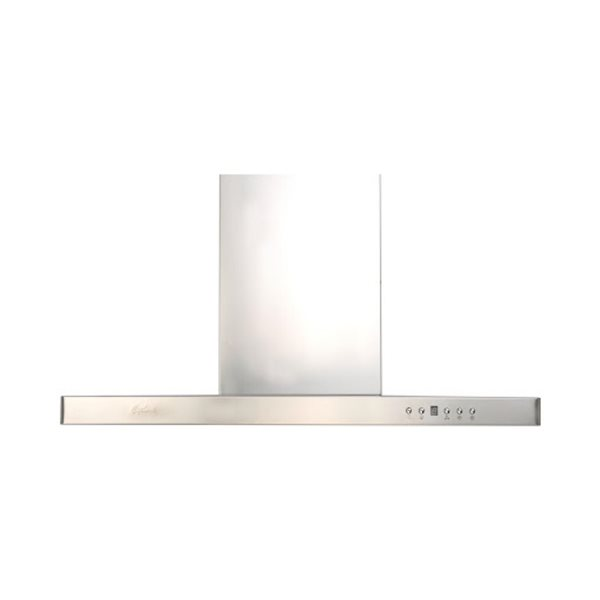 Cyclone T-Shape 36-in Ducted Wall-Mounted Canopy Range Hood