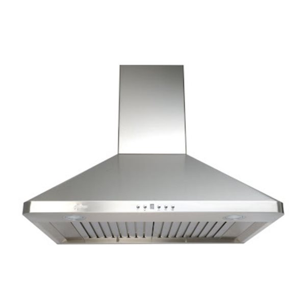 Cyclone 30-in Ducted Wall-Mounted Range Hood With Baffle Filters