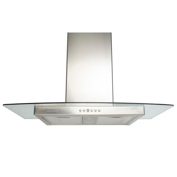Cyclone 30-in Wall-Mounted Range Hood (Stainless Steel)