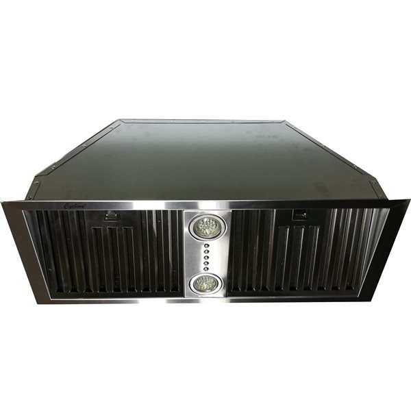 Cyclone 28-in Undercabinet Range Hood (Stainless Steel)