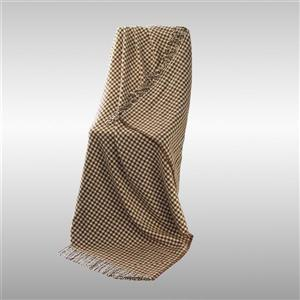 North Home Bedding Racha 67-in x 51-in Beige Lambswool Throw