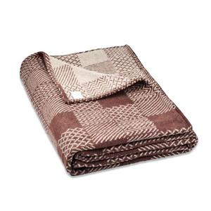 North Home Bedding Multicheck 108-in x 90-in Cotton Blanket