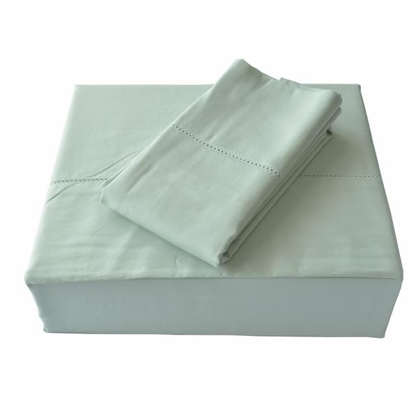 North Home Bedding Isabelle 310-Thread Count Sage Cotton King Sheet Set