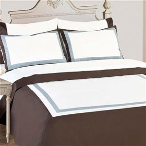 North Home Bedding Diana Queen 3-Piece Duvet Cover Set