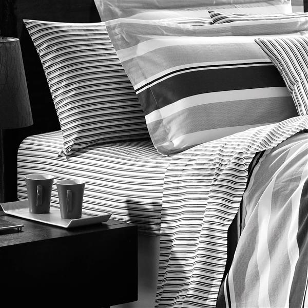 North Home Bedding Trenton 220-Thread Count Multiple Colours Twin Sheet Set (3 Pieces)