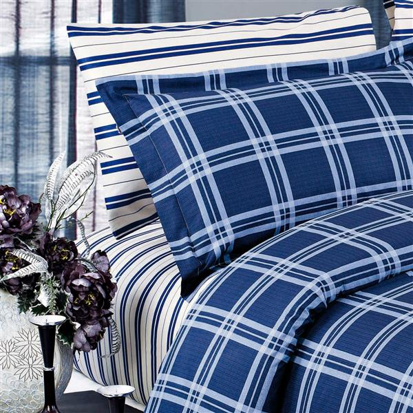 North Home Bedding Steward 220-Thread Count Multiple Colours Queen Sheet Set (4 Pieces)