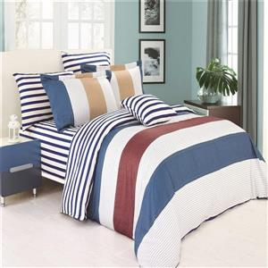 North Home Bedding Midland 220-Thread Count Multiple Colours Twin Sheet Set