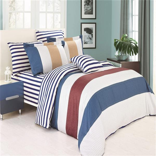 North Home Bedding Midland 220-Thread Count Multiple Colours Queen Sheet Set