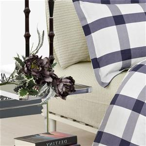 North Home Bedding Manchester 220-Thread Count Multiple Colours Queen Sheet Set