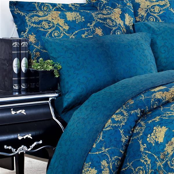North Home Bedding Elizabeth 220-Thread Count Multiple colours Cotton Queen Sheet Set