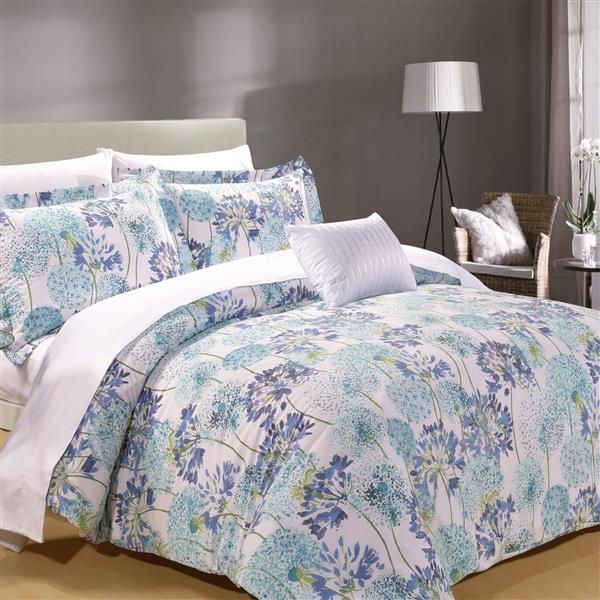 North Home Bedding Meadow Queen 8-Piece Duvet Cover & Sheet Set