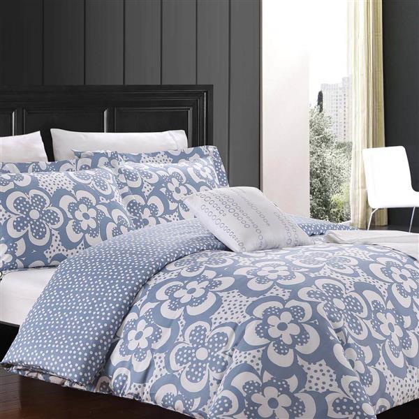 North Home Bedding Karen Queen 8-Piece Duvet Cover & Sheet Set