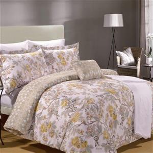 North Home Bedding Adele King 8-Piece Duvet Cover & Sheet Set