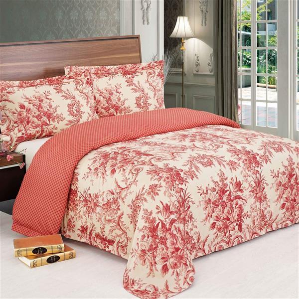 North Home Bedding Sofia King 3-Piece Duvet Cover Set