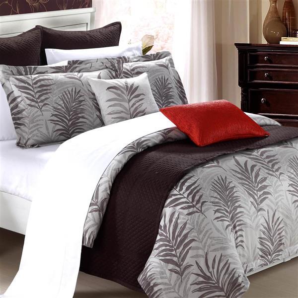 North Home Bedding Ferndale King 3-Piece Duvet Cover Set