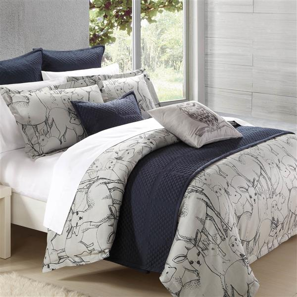 North Home Bedding Norther Forest King 7-Piece Duvet Cover Set