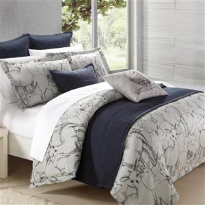 North Home Bedding Norther Forest Queen 7-Piece Duvet Cover Set