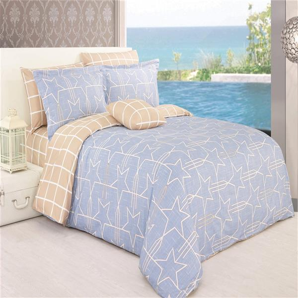 North Home Bedding Twinkle King 4-Piece Duvet Cover Set