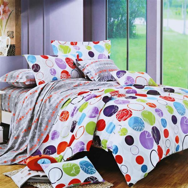 North Home Bedding Summertime Queen 4-Piece Duvet Cover Set